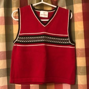 90 (US size 3) Hanna Andersson sweater vest